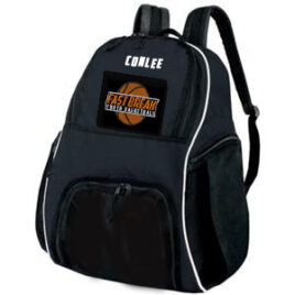 Backpack w/ Basketball Compartment Includes Embroidered Logo & Player Name