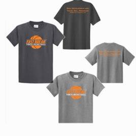 Black or Gray T-Shirt with Logo (Adult & Youth sizes)