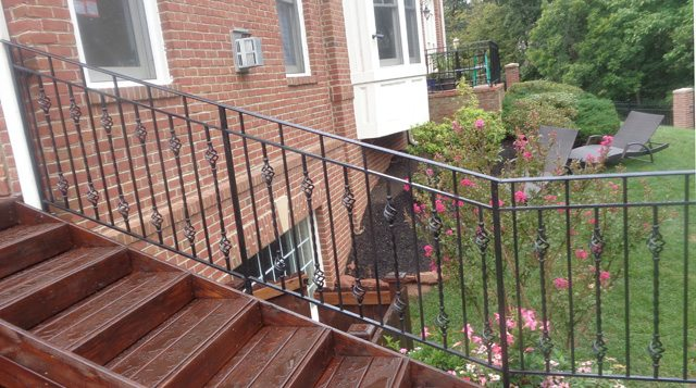 custom wrought iron railing mclean va