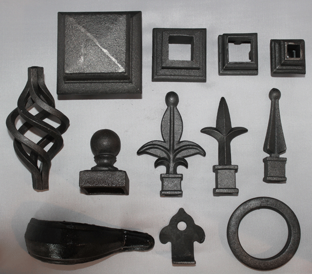 Wrought Iron Decorative Accents