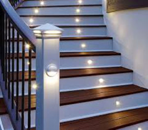 spot lighting for decks