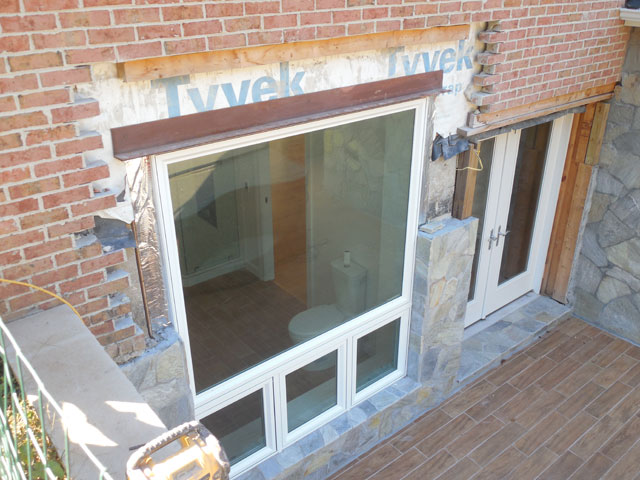 Cutting Out A Brick Wall To Install Window Fairfax