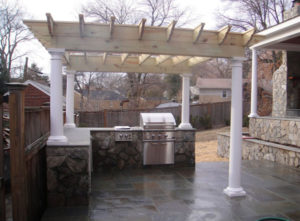 outdoor patio kitchen northern virginia