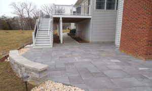 Northern Virginia deck patio project