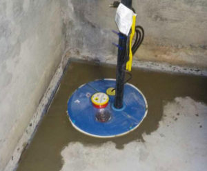 super sump sump pump-installed in northern Virginia