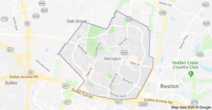 herndon VA contractor map