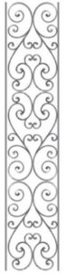 Wrought Iron Porch Supports Northern Virginia