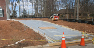 new home concrete driveway northern virginia