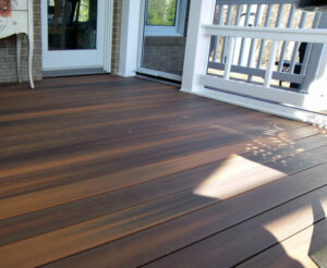 trex decking screen room northern va
