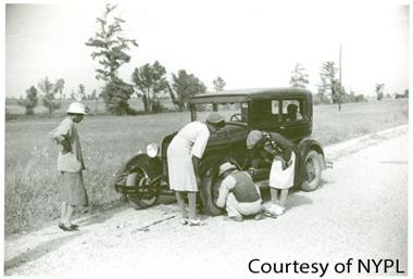 Perthshire-Women-Tire-Repair-motor-carriage
