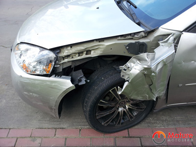 crashed-front-of-car