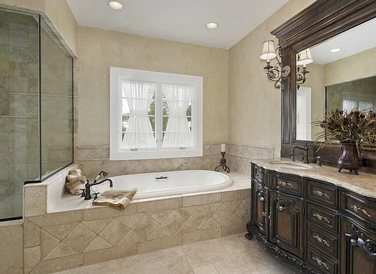 Classic-Master-Bathroom-Design-Ideas