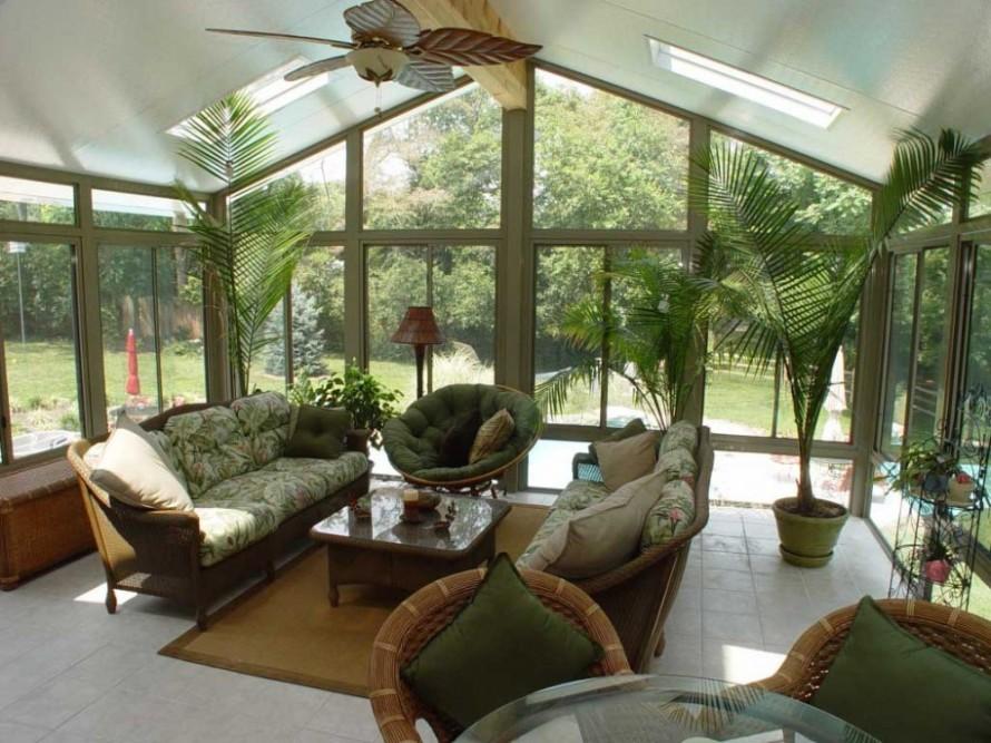 Classy-Modern-Sunroom-Design