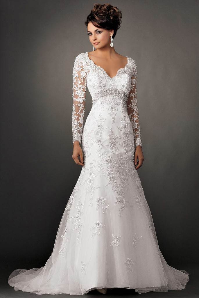 Fabulous-Lace-Wedding-Dresses-Latest-Photograph-Gallery