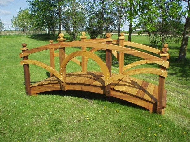 Garden Bridges wood