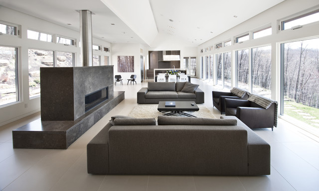 Long House contemporary-living-room