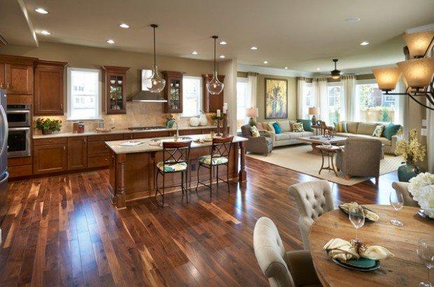 Open-Concept-Kitchen-Living-Room-Design-Ideas-9-620x410