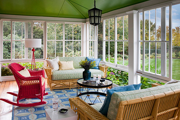 Painted-ceiling-in-a-Rhode-Island-sunroom