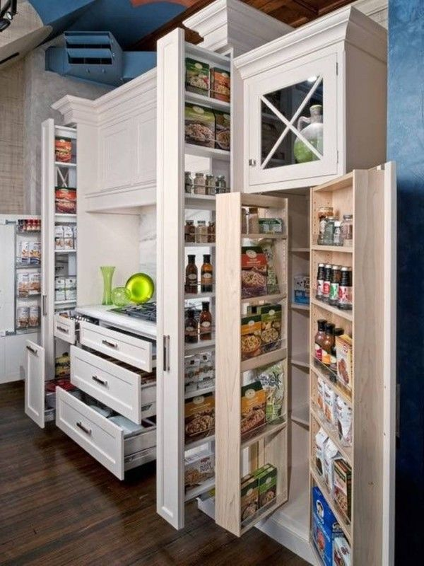 Smart Kitchen Idea Cabinets Storage Solutions