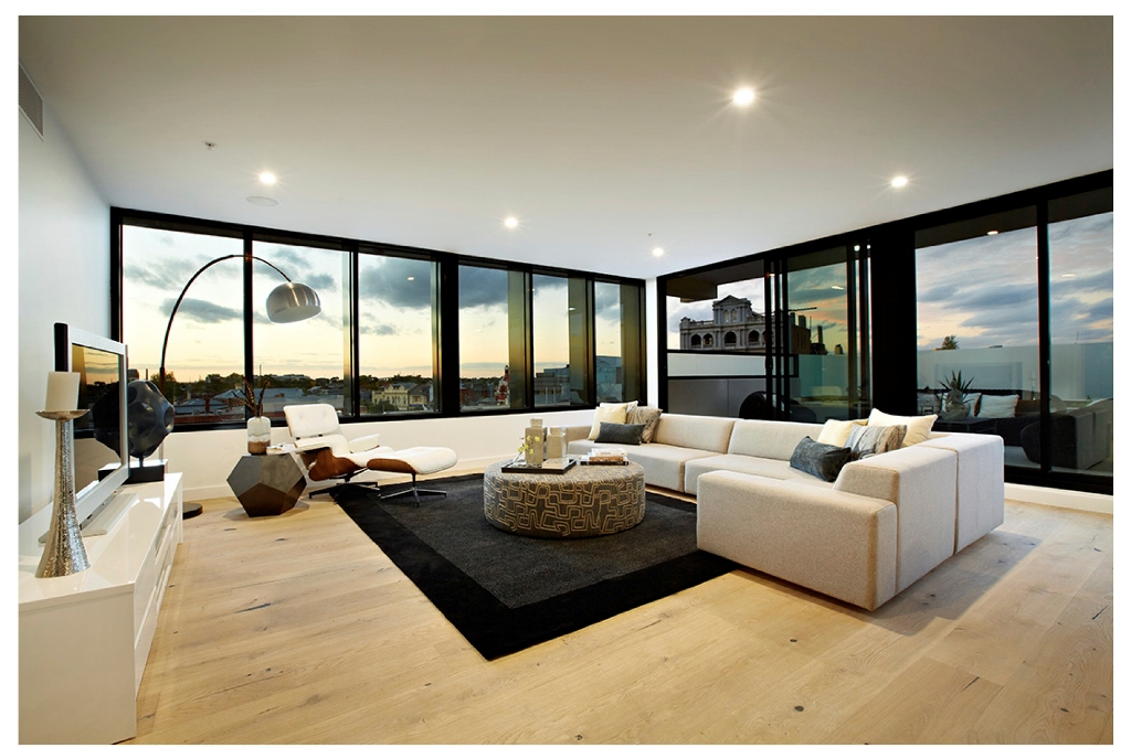 luxurious penthouse