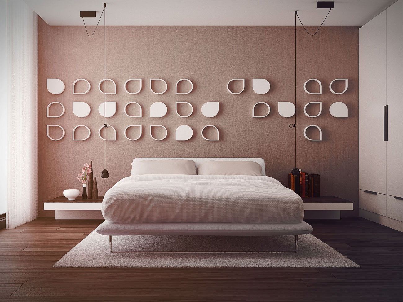 pink-bedroom-design