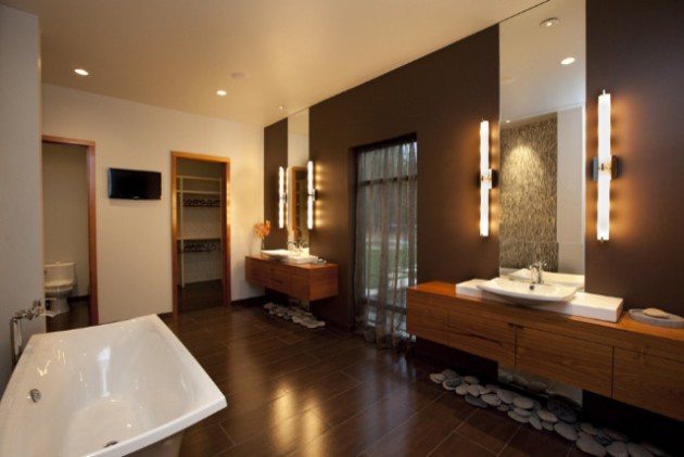 Amazing Asian Inspired Bathroom