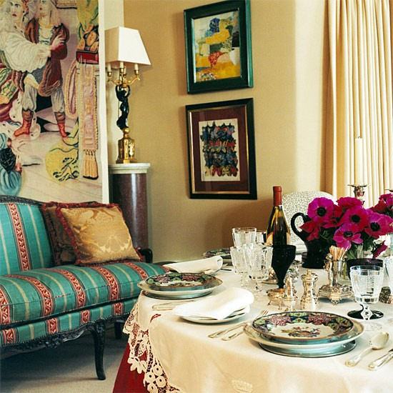 Feast Your Eyes Gorgeous Dining Room Decorating Ideas: 30 Incredible Eclectic Dining Designs