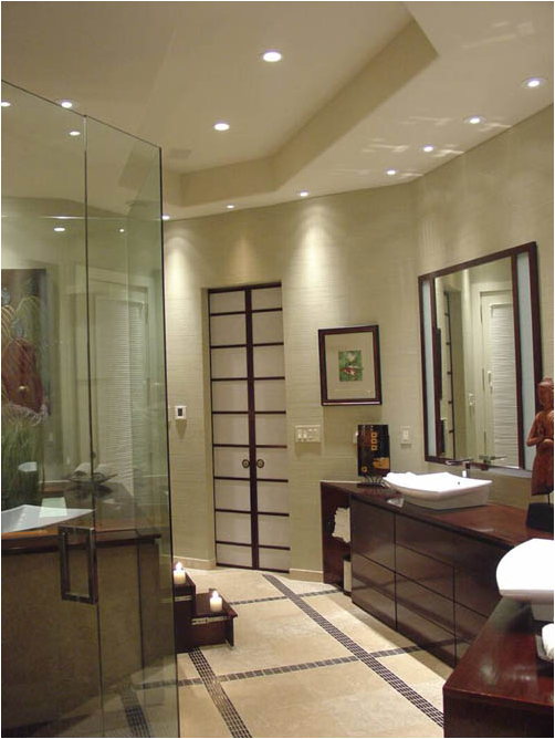 Asian Bathroom Design Idea