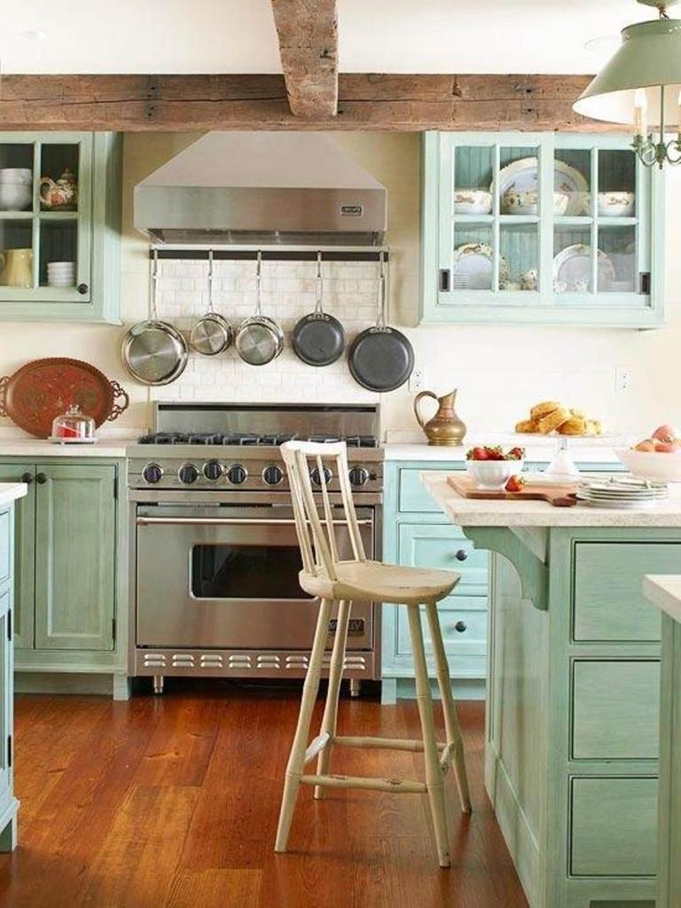 Beach-Cottage-Decor-Cottage-Kitchen-Design-Ideas