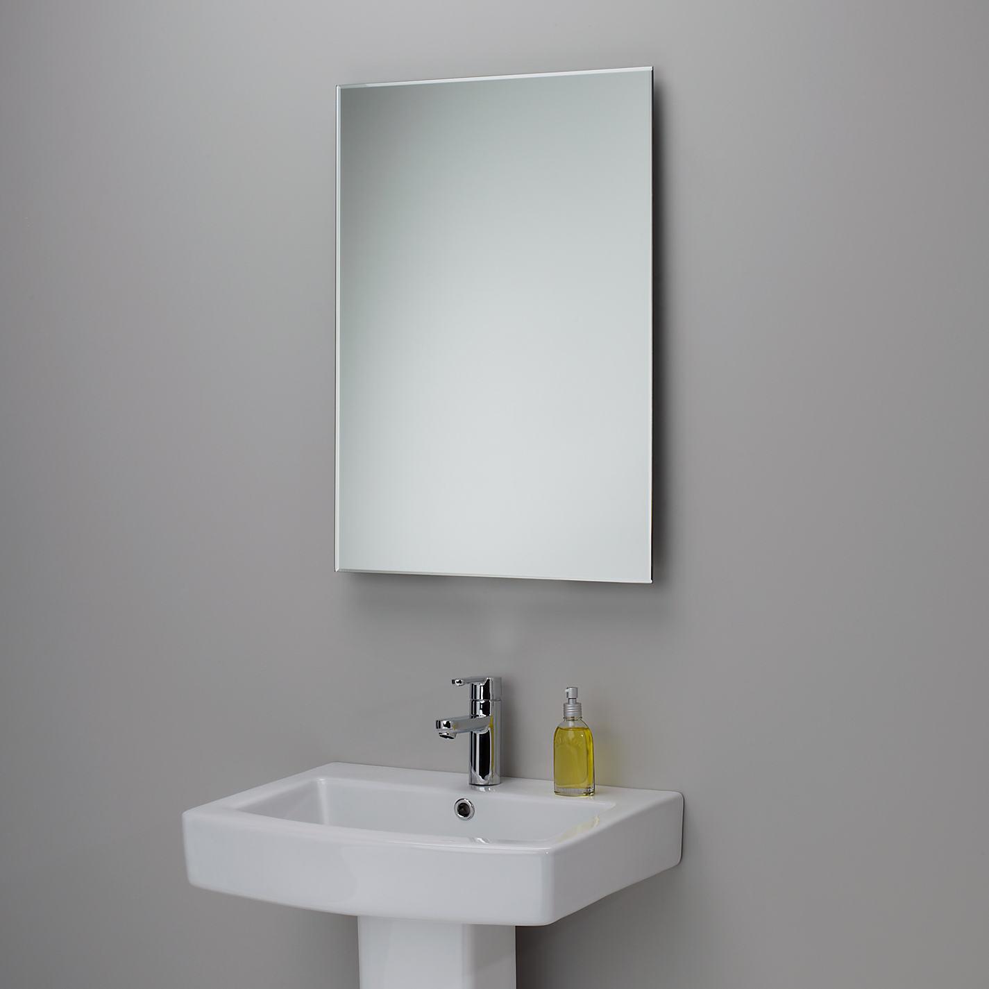 Bevelled Edge Bathroom Mirror