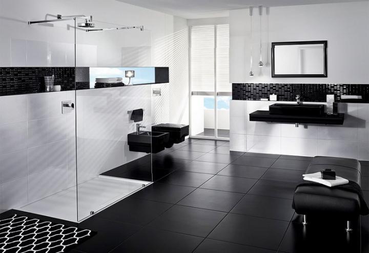 Black-and-White-Bathrooms-Elegant