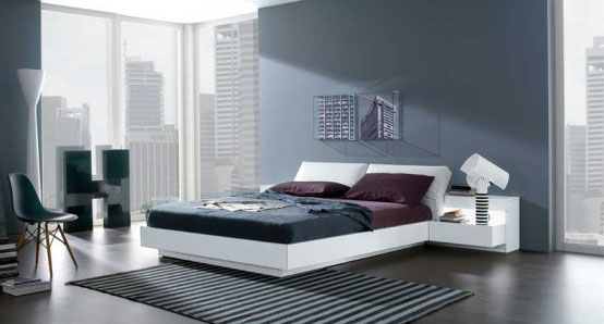 Bridge-Contemporary-Bedroom-Design-with-MisuraEmme's-Beds