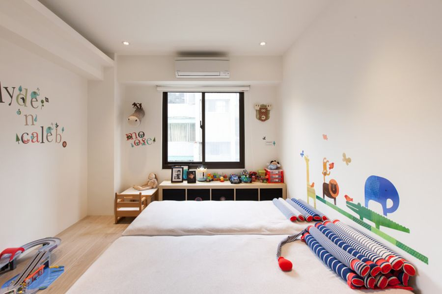 Colorful-and-contemporary-kids-room-idea