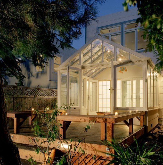 Conservatory eclectic-exterior