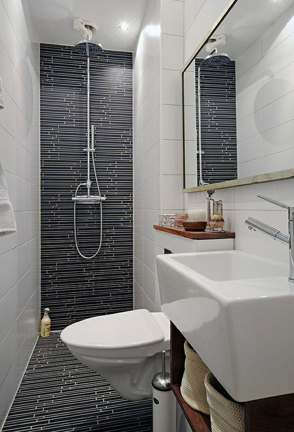 Contemporary-Small-Bathroom-Ideas-with-White-Black-Tiles