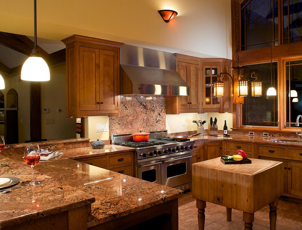 Craftsman-Style-Kitchen-Ideas