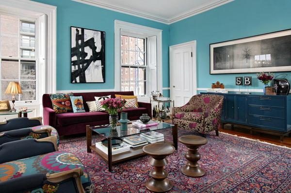Eclectic-Living-Room-Design