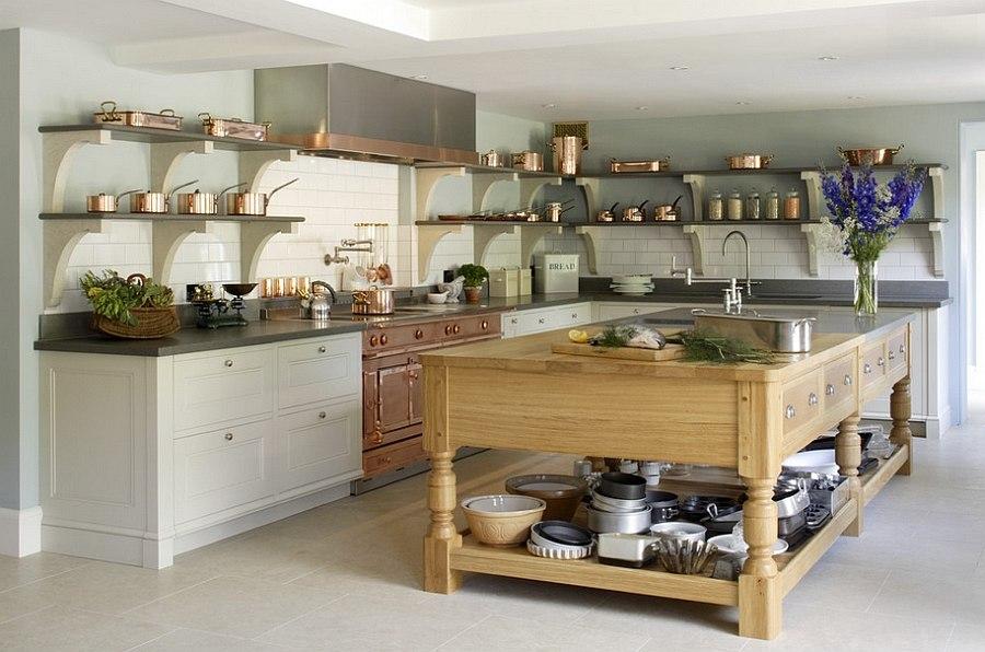 Edwardian-style-kitchen-with-La-Cornue-oven-in-glittering-copper