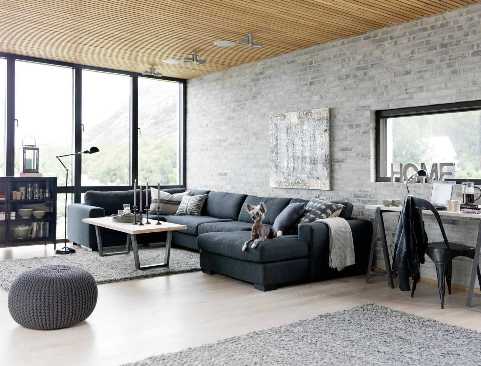 Exquisite-Industrial-Living-room