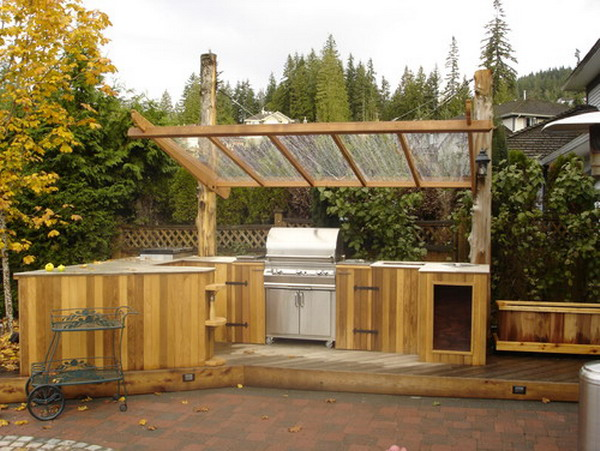 Great-Traditional-Small-Outdoor-Kitchen-with-Covered-Ideas