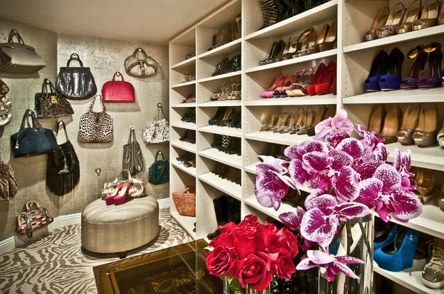 Hidden Hills, CA eclectic-closet