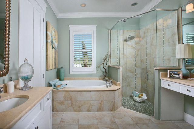 Lovable Beach Style Bathroom