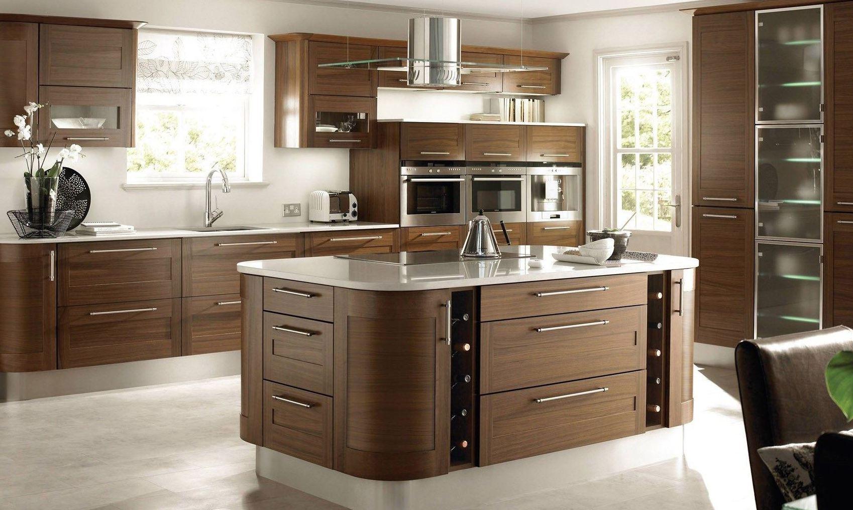 Modered Wooden Kitchen