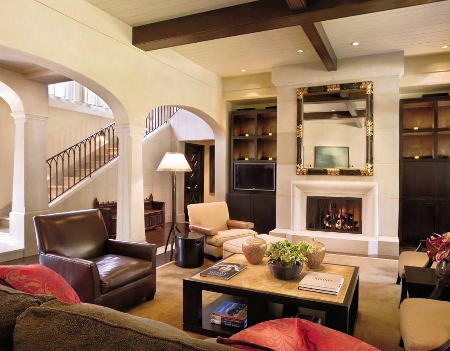 Modern-Traditional-Living-Room-Designs