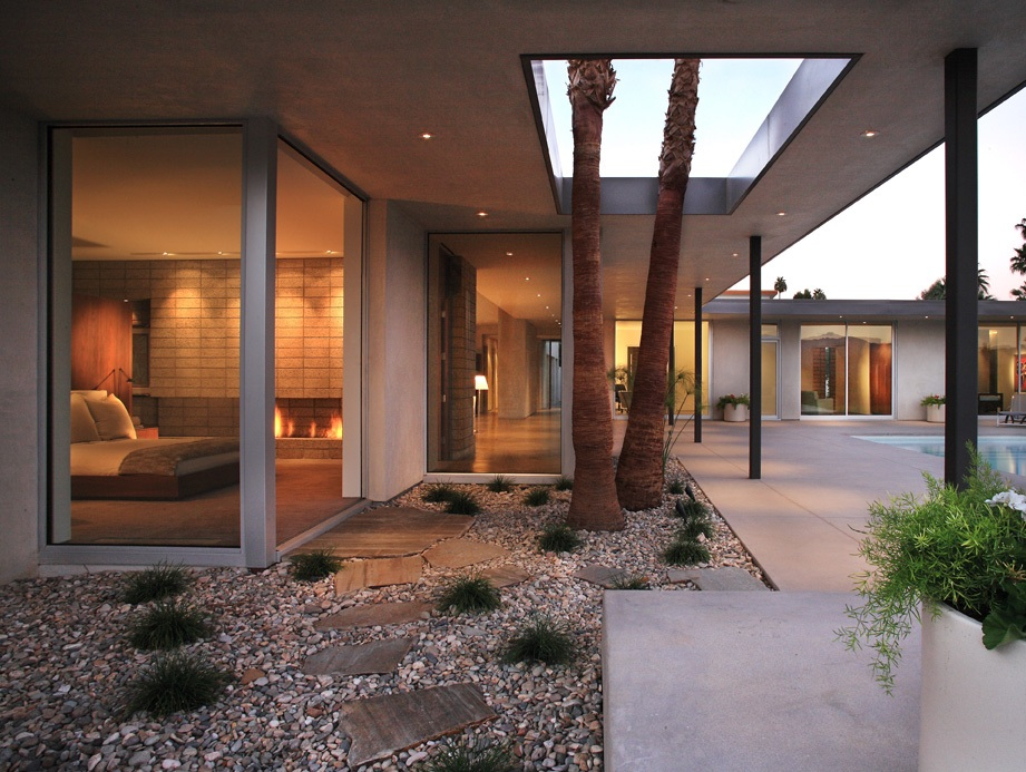 Outdoor-Design-For-House-With-Modern-House-Concept
