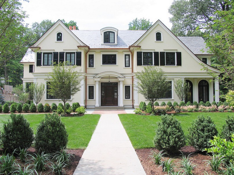 Stunning-Exterior-for-Traditional-French-Home-Designs