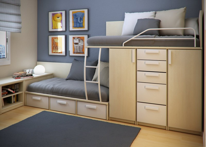 25 Cool Bed Ideas For Small Rooms - The Wow Decor