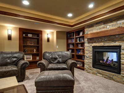 Willow-Basement-Bookcase-Fireplace
