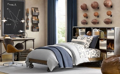 beautiful-and-traditional-boys-room-decor