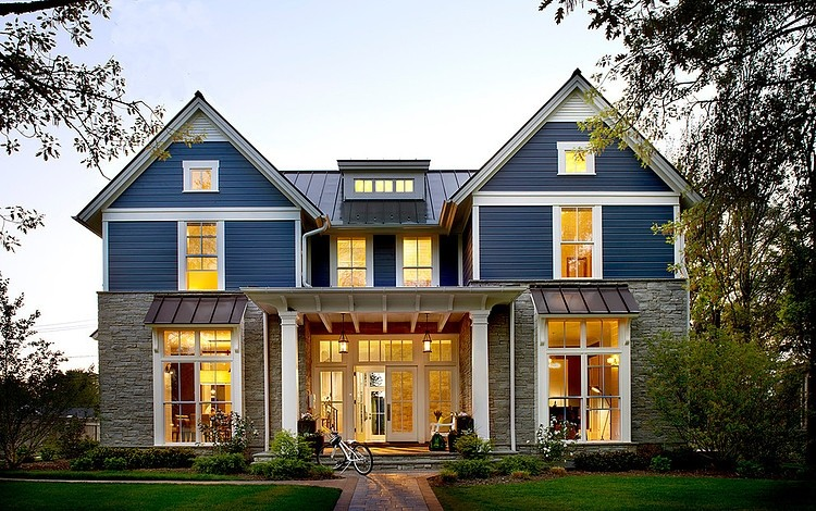 blue-modern-farm-house